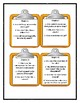 LIAR, LIAR PANTS ON FIRE By Gordon Korman - Discussion Cards
