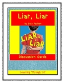 Gary Paulsen LIAR, LIAR - Discussion Cards
