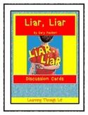Gary Paulsen LIAR, LIAR - Discussion Cards