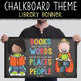 library CHALK - Classroom Decor: SMALL BANNER, Books Aren't Just Made of Words