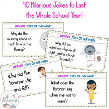 LIBRARY JOKE OF THE WEEK - A Full Year of Side-Splitting Laughs!