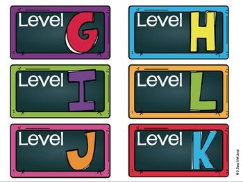 Library Labels for Classroom Library  EDITABLE Chalkboard Version