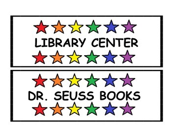 LIBRARY LABELS PACK