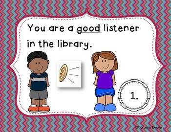LIBRARY MANNERS SCOOT GAME