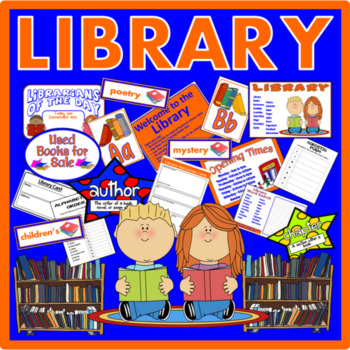 LIBRARY ROLE PLAY - EARLY YEARS KEY STAGE 1-2 READING BOOKS FICTION