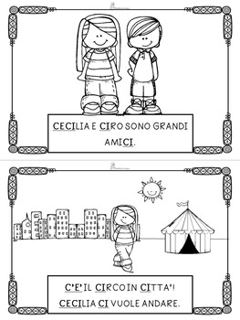 LIBRETTO DI LETTURA ORTOGRAFICA - CI CE