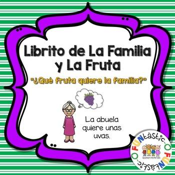 LIBRITO DE LA FAMILIA Y LAS FRUTAS