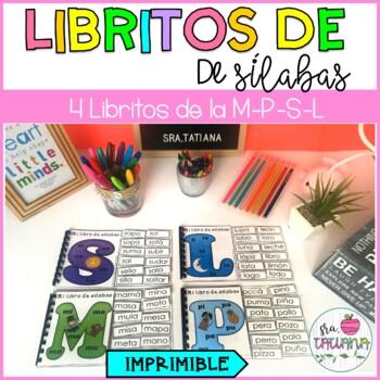 LIBRITOS DE SÍLABAS (M, P, S, L) / SÍLABAS EN ESPAÑOL