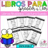 Spanish Guided Reading Leveled books | Libros Nivelados de Lectura Guiada