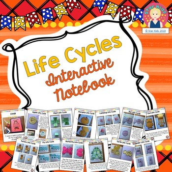 LIFE CYCLE INTERACTIVE NOTEBOOK FOR KINDERGARTEN AND FIRST GRADE