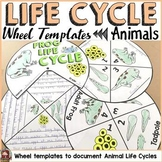 LIFE CYCLE CRAFT ACTIVITES: WHEELS: ANIMALS