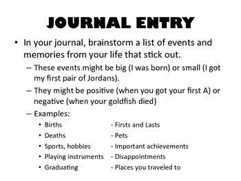 LIFE GRAPH JOURNALING + ACTIVITY