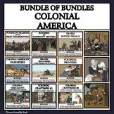 LIFE IN COLONIAL AMERICA - BUNDLE OF BUNDLES