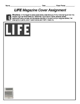 LIFE Magazine Cover assignment