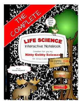 LIFE SCIENCE CURRICULUM - ULTIMATE BUNDLE v 2.0 (No Labs)