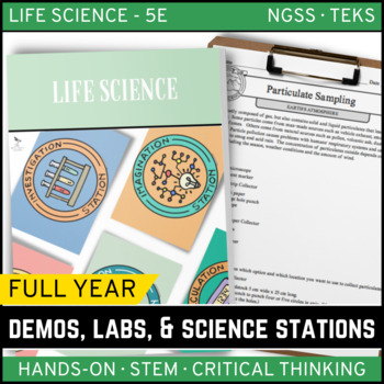 LIFE SCIENCE Demos, Labs & Science Stations BUNDLE