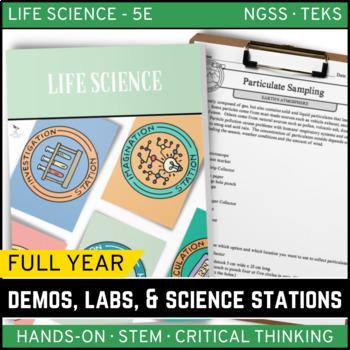 LIFE SCIENCE Demos, Labs & Science Stations BUNDLE