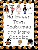 LIFE SKILL- Halloween Costumes and More Catalog Shopping Task