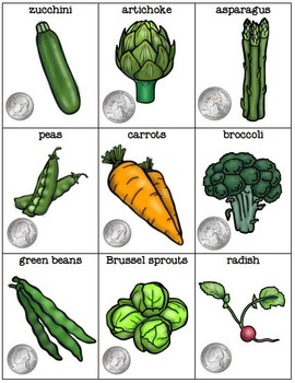 LIFE SKILL Vegetable Shopping