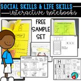 LIFE SKILLS AND SOCIAL SKILLS INTERACTIVE NOTEBOOK FREE SAMPLE