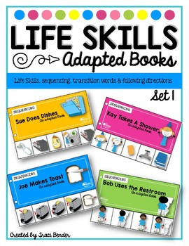 LIFE SKILLS Adapted Sequencing Books {12 in all} #spedchristmas3