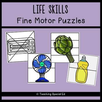 LIFE SKILLS Fine Motor Puzzles - GROWING BUNDLE