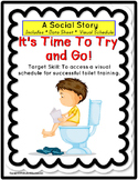 LIFE SKILLS Toilet Training Visuals Kit and Social Story for Autism