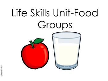 LIFE SKILLS UNIT - FOOD GROUPS