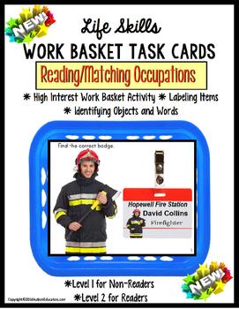 LIFE SKILLS Work Task Basket OCCUPATIONS Functional Readin