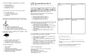 LIFE Science Review Mat 4
