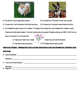 LIFE Science test Study Guide