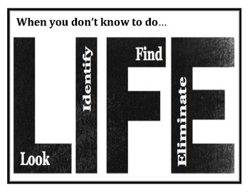 LIFE Strategy Poster