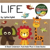 LIFE by Cynthia Rylant 10 Book Extension Activities PLUS 2 Class Books NO PREP