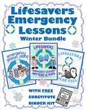 WINTER BUNDLE  ~ NO PREP SUBSTITUTE / EMERGENCY LESSON PLANS