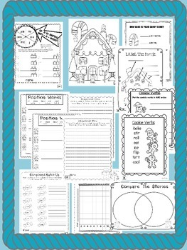 GINGERBREAD  ~ NO PREP SUBSTITUTE / EMERGENCY LESSON PLANS