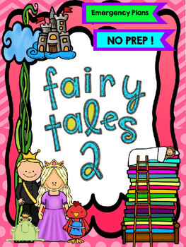 LIFESAVERS - FAIRY TALES volume 2 {NO PREP} SUBSTITUTE LESSONS