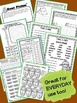 LIFESAVERS (NO PREP) EMERGENCY / SUBSTITUTE  LESSON PLANS ~ CAMPING