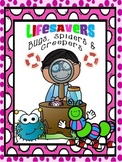 LIFESAVERS (NO PREP) EMERGENCY / SUBSTITUTE PLANS) ~ INSECTS & BUGS