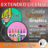 LIFETIME EXTENDED LICENSE FOR STORE LOGO {DESIGN YOUR OWN LOGO}