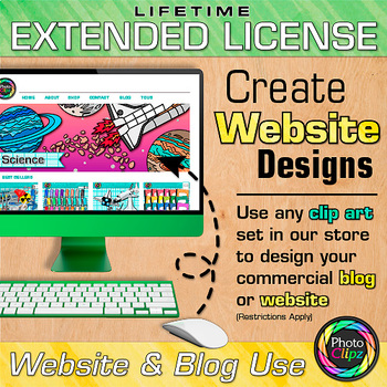 LIFETIME EXTENDED LICENSE FOR WEBSITE & BLOG USE {DESIGN YOUR OWN}