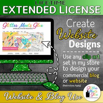 LIFETIME EXTENDED LICENSE FOR WEBSITE & BLOG USE   DESIGN YOUR OWN