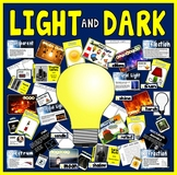 LIGHT AND DARK TEACHING RESOURCES SCIENCE KS2 SHADOW REFLECTION REFRACTION