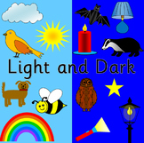 LIGHT AND DARK thematic unit PLUS The Owl Who Was Afraid of the Dark