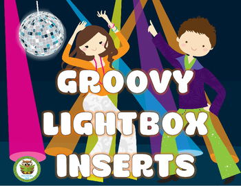 LIGHT BOX INSERTS FREEBIE: DISCO THEME