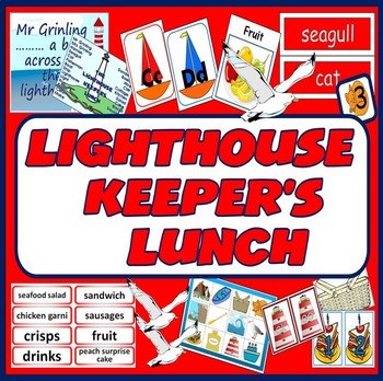 LIGHTHOUSE KEEPERS LUNCH STORY RESOURCES LITERACY READING EARLY YEARS KS1