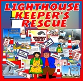 LIGHTHOUSE KEEPERS RESCUE STORY TEACHING RESOURCES EYFS KS1 READING WHALES