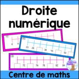 Droite numérique - centre de maths