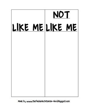 LIKE ME/ NOT LIKE ME