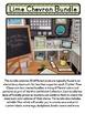 LIME CHEVRON Classroom Decor - EDITABLE Clutter-Free Class