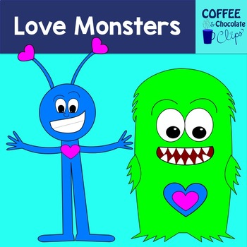 Love Monsters Clipart